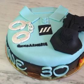 Gâteau Gendarmerie