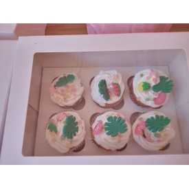 Boite de 6 cupcake décorés
