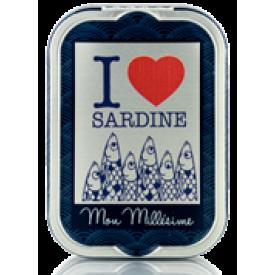 "Sardines Mon Millésime  ""I LOVE SARDINE"""