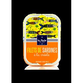 Sardines Sans Huile à la Créole