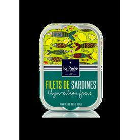 Sardines Sans Huile Thym Citron