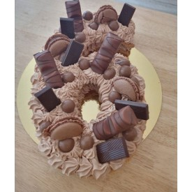 Number cake 4 personnes chocolat